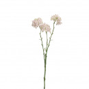 Snowball branch, length 43cm, 3 flower without lea